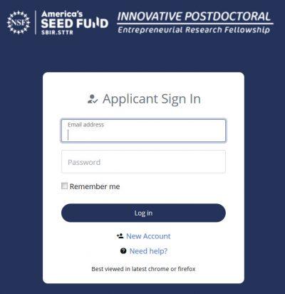 Getting Started: Applicant – NSF SBIR Innovative
